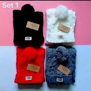 Ugg hat and scarf set I have all four colors!